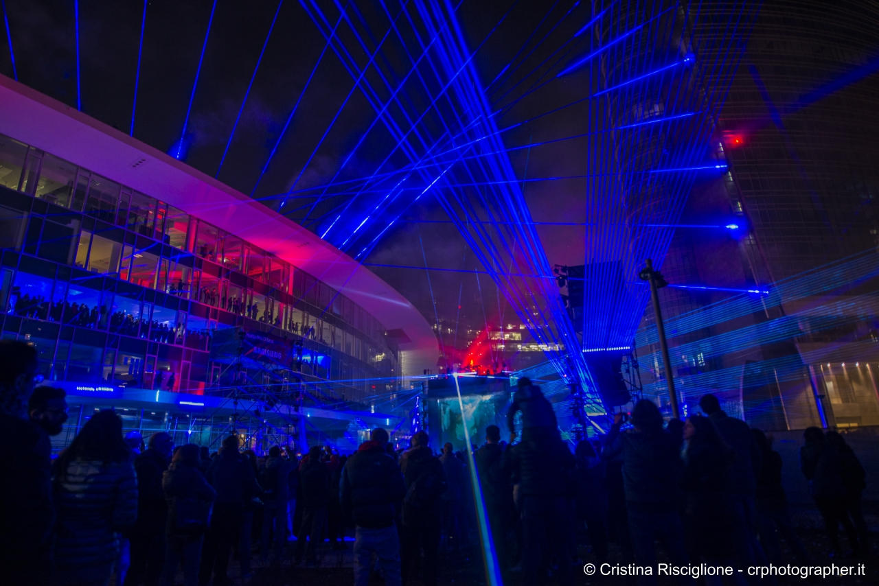 Urban Laser Show e Fatboy Slim a Milano post sound identity blog