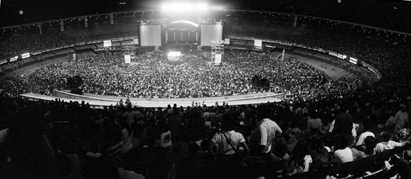 Rio Maracana Stadium 1990 paul mccartney Sound Identity blog