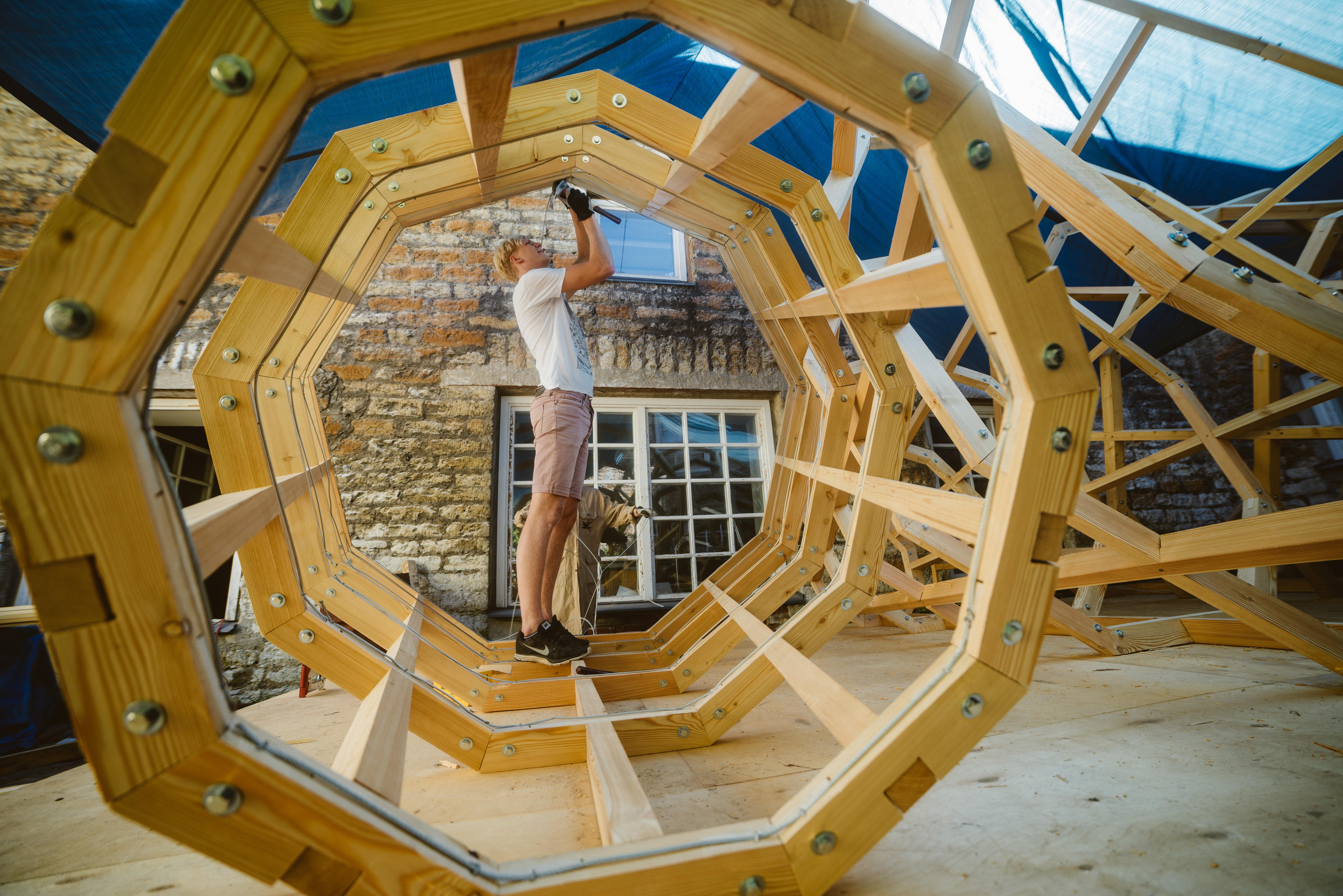 Interior architecture students capture the sound of the Estonian
