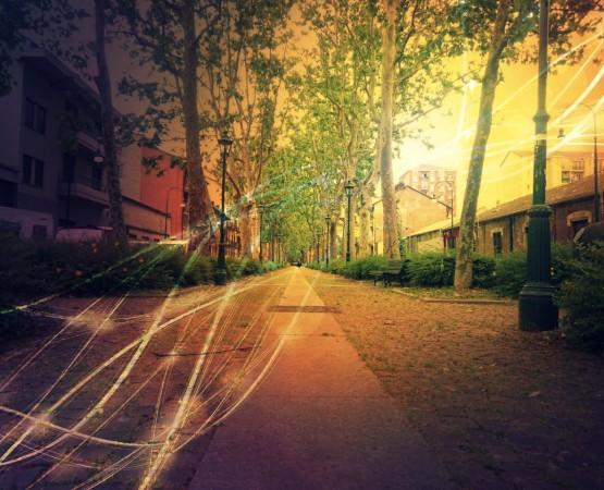 Aurora Sonora a soundwall to listen to the city Torino sound design - Sound Identity blog