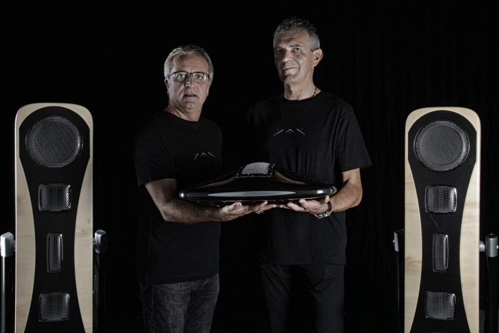 YAR: the € 250,000 sound system made by a start-up in Turin - Giancarlo Sopegno and Adriano Marconetto - Sound Identity blog
