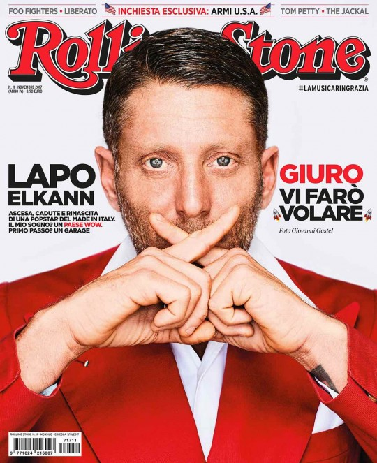 lapo elkann cover story rolling stone italia, soundtrack by Sound Identity, video by Marco Rubiola